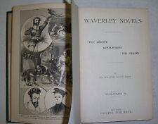 WAVERLEY NOVELS By Walter Scott. VOL. 5, Abbott, Kenilworth, The Pirate. Collier