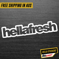HELLAFRESH JDM CAR STICKER DECAL Drift Turbo Euro Fast Vinyl #0004