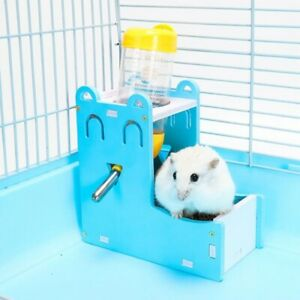 Smiling Face Water Bottle Hamster Feeder Automatic Drinking Water Without>Kettle
