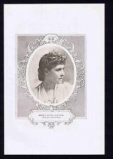 Princess Troubetzkoy, Amélie Rives Chanler, American Novelist & Poet-1909 Print