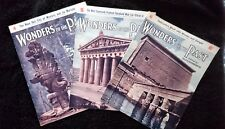 Wonders of the Past Magazines 4,5 & 6 by Sir JA Hammerton 1933 Paperback