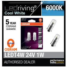 OSRAM 24v LED 6000k Cool Bianco t4w (249) 12v 1w lampadine LED LUNGA DURATA 3924cw-02b