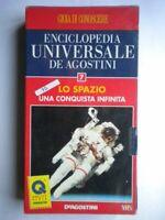 VHS Nuovo Lo spazio conquista infinita De Agostini universale 7 scienza no DVD