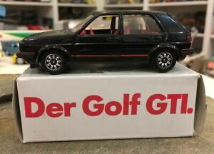 Volkswagen VW Golf GTI 1/43 Schabak promo box, Mint and Boxed