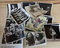 Lot of 15 Vintage Music Memorabilia 8x10 Promotional Photographs - Mostly B&W