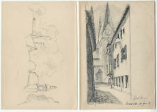 [Anonymus]: Eichstätt. 6 Zeichnungen, um 1928