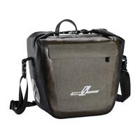 19L Full Waterproof Bicycle Saddle Bag Bike Rear Rack Bag Luggage Pannier #JT1