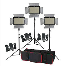 3pcs Yongnuo YN900 LED Video Light Kit +3pcs Adapter+ 6pcs Battery & Charger