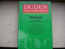 Duden, Grundwissen Biologie, umfassendes Sachlexikon der gesamten Schulbiologie