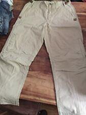 G Star Trousers Pants Beige Combat Cargo 32 32