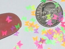 50pc Super tiny Magical Butterfly fairy dust Wings Glows in black Light confetti