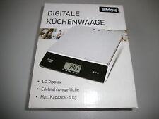 Digitale Küchenwaage von Tevion 5kg/1g genau
