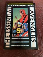MARVEL COMICS, ESSENTIAL VOL. 1, AVENGERS, #1-24 TPB, 2ND PRINT From 1999