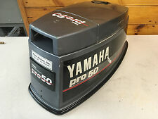 1990 Pro 50 HP Yamaha 2 Stroke Outboard Top Cowl Hood Cover Freshwater MN