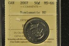 Canada 2007 50 Cent - ICCS - MS66 -