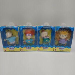 Lot of 4 Mattel Nickelodeon Rugrats 1997 Collectible Dolls NIB