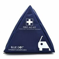 L@@K MOTORIST VEHICLE First Aid Kit|BS8599-2 COMPLIANT|Blue Dot FIRST AID KIT !!