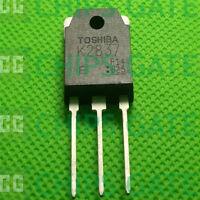 30PCS MOSFET Transistor TOSHIBA TO-3P 2SK2837 K2837