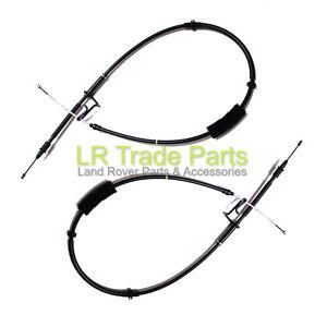 LAND ROVER FREELANDER 1 HAND BRAKE CABLES PAIR RHS /& LHS /<2001 SPB101301//311