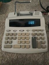 Texas Instruments Ti-5045 Svc 2-color calculator adding machine tested and works
