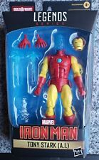 Marvel Legends Shang-Chi Mr. Hyde Tony Stark A.I. Ironman Action Figure No BAF