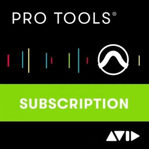 Avid Pro Tools 1-Year Subscription Licence - Industry Standard Recording DAW