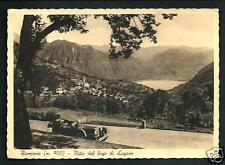 Ramponio ( Como ) : Vista Lago di Lugano - cartolina viaggiata nel 1949