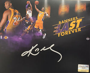 Kobe Bryant Signed Autographed 8x10 Photo IMPERFECT NBA Los Angeles Lakers - COA