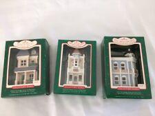 Hallmark Collector's Series Nostalgic Houses Lot~1986 Candy Shoppe, 1987 House o