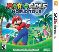 Mario Golf: World Tour  Nintendo 3DS Game