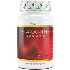 Astaxanthin 12 mg - 70 Softgel Kapseln - natürlicher Antioxidant + Vitamin E