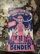 """Futurama  Gender Bender 8"""" Tin Wind-Up Robot"""