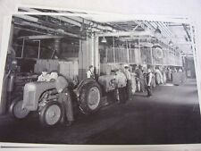 FORD TRACTOR  2N ASSEMBLY LINE  12 X 18 LARGE PICTURE   PHOTO