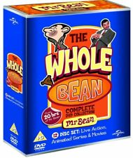 Mr Bean The Whole Bean Complete Collection TV Series Animated Movies DVD