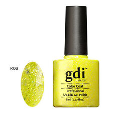 UK SELLER GDI Nails Diamond Glitters K06 Uv/led GEL Soak off Nail Polish