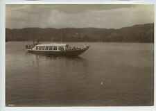 More details for coniston lake – lake district steam boat 1912 photo by frith