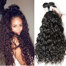300g/3bundles 8A brazillian virgin human hair water wave 16inches