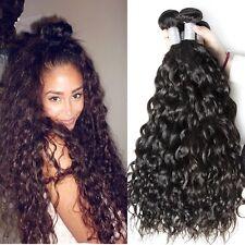 300g/3bundles 8A brazillian virgin human hair water wave 16inches