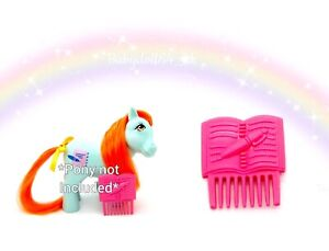 ⭐️ My Little Pony ⭐️ G1 HTF Euro Bright Eyes Original Diary Comb Only!