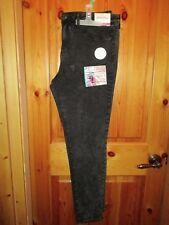 NEW Womens Soft Mid Rise Super Stretch BLACK JEGGING Size 18 Modern Slim Leg