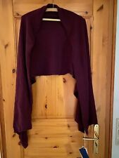 Weinrote Kaschmir Cashmere Stola made in Italy