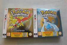 Pokemon Gold Edition + Silver Edition DCC - 3DS BOX - NEW !!