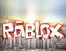 Roblox logo city game - quality printed mouse mat pad FREE P&P gift idea