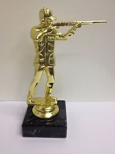 New Marble Based SHOOTING Trophy FREE ENGRAVING