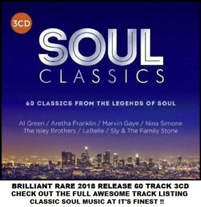 Best Greatest Soul 3CD Gaye Green Withers Nelson Franklin Vandross Delfonics Sly