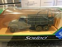 A4 Solido Military Car Catalogue 1990 Boxset Firefighter Truck