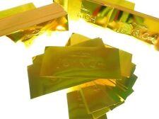 Joyrich - Embossed 'Gold Bar' Logo Sticker in 'Gold Leaf' Foil