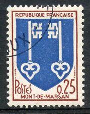 STAMP / TIMBRE FRANCE OBLITERE N° 1469 BLASON / MONT DE MARSAN