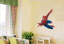 DIY Spider Man Removable Vinyl Wall Decal Stickers Kids Room art Home Decor