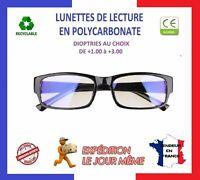 LUNETTES DE LECTURE LOUPE ANTI FATIGUE ⭐ FRANCE / NORME CE ⭐ De +1.00 à +3.50